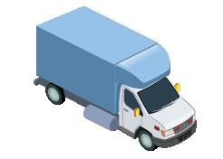 Boxed van